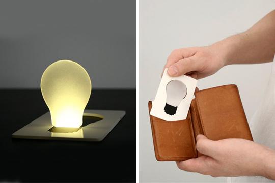 Credit Card Light-bulb