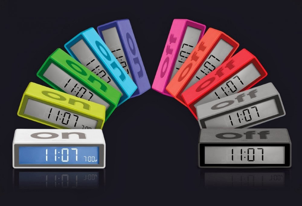 Flip Alarm Clock Will Make Sure That Your Alarm Always Goes Off